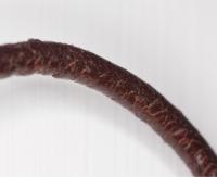 Lederkette Braun 2mm