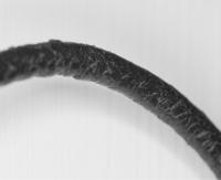 Lederkette Schwarz 2mm